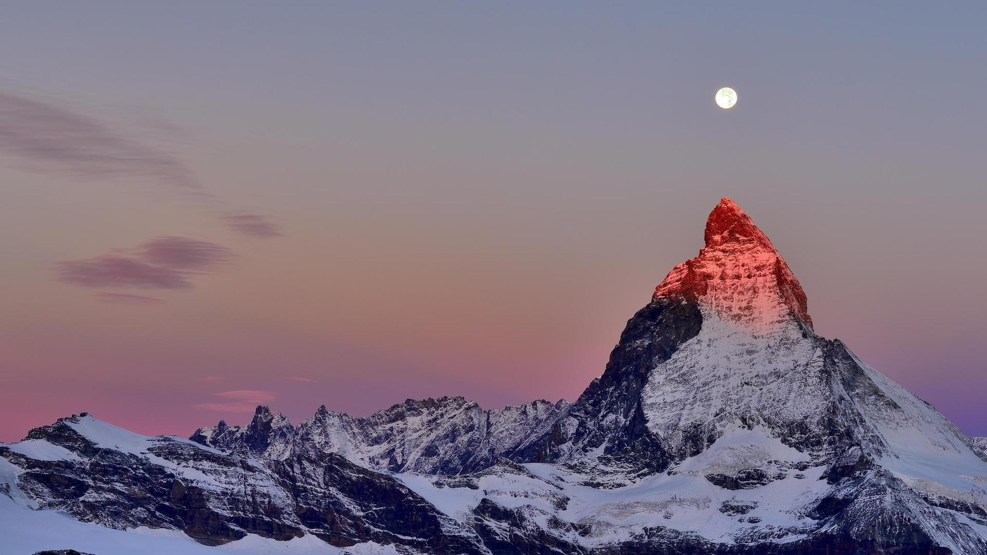 Matterhorn from Gornergrat Station wallpaper