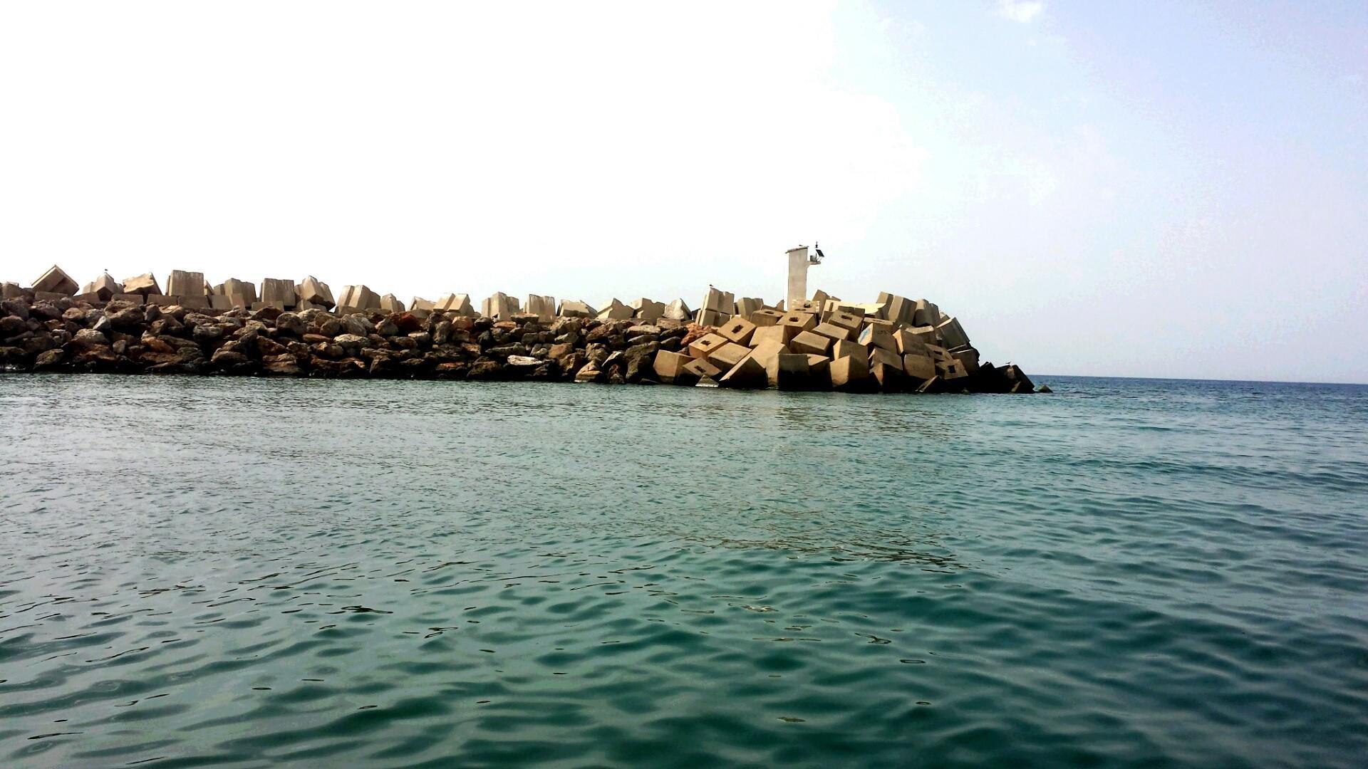 Bouharoune port Tipaza wallpaper