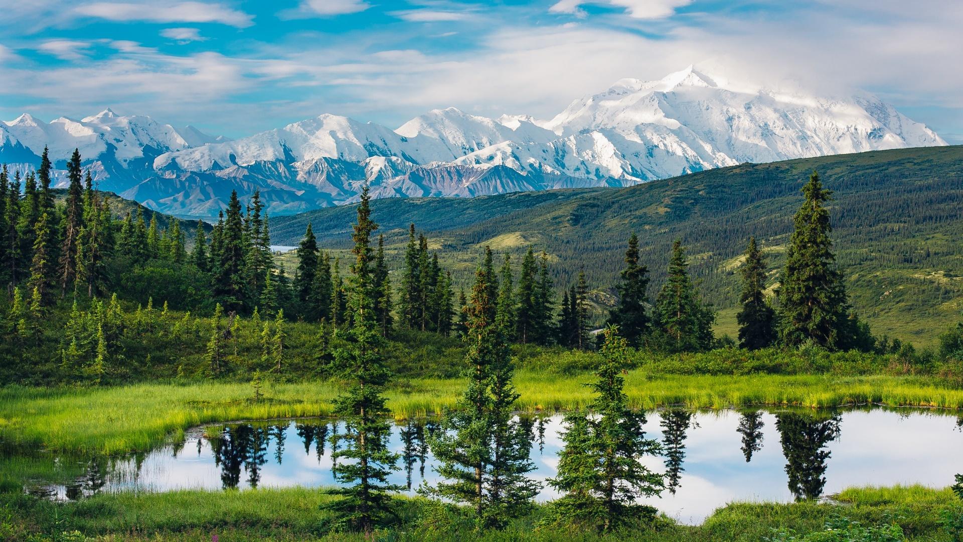 Alaska Range wallpaper