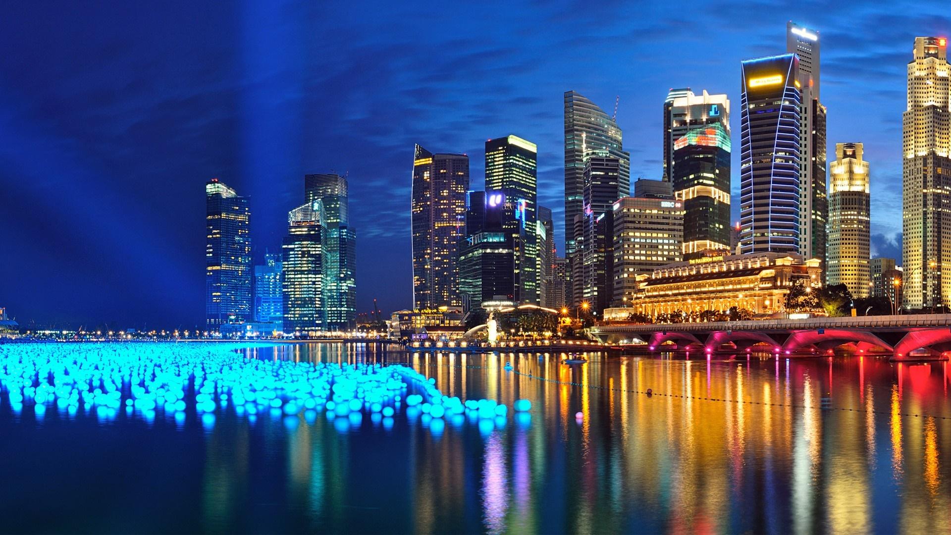 Marina Bay, Singapore wallpaper