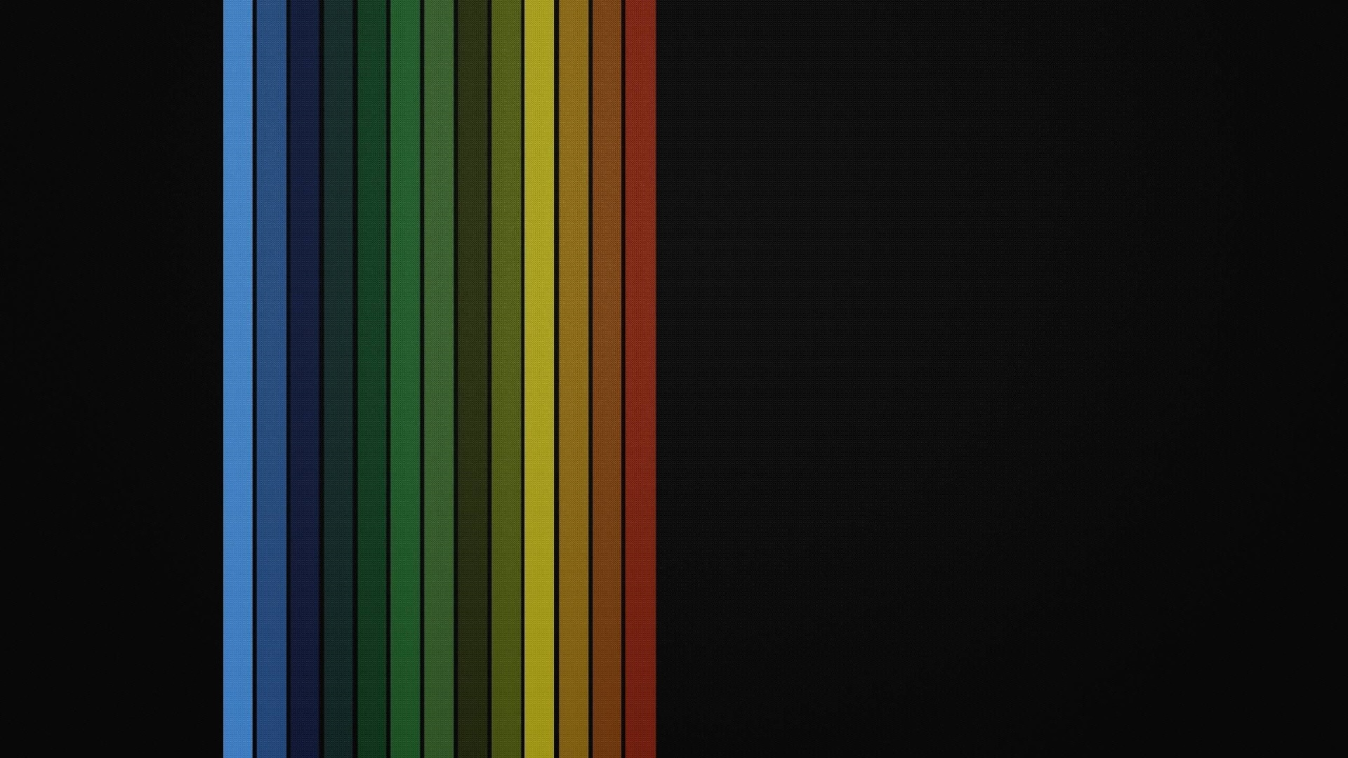 Rainbow lines wallpaper