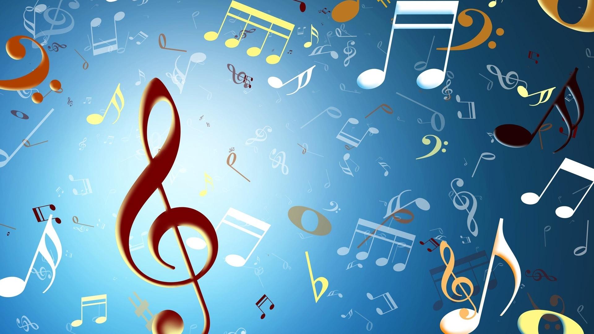 Music background texture wallpaper