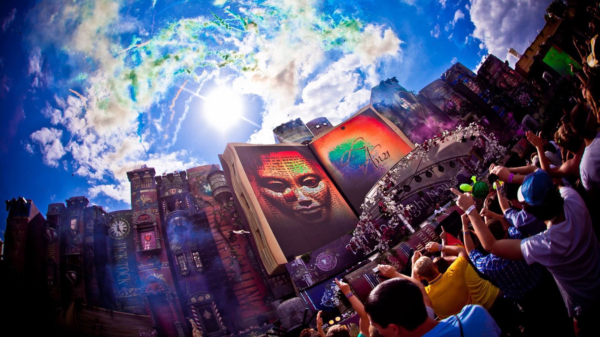 Tomorrowland festival wallpaper