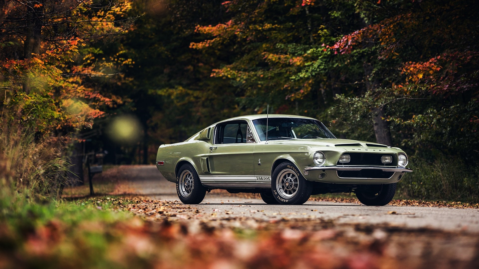 1968 Ford Mustang Shelby GT500 wallpaper