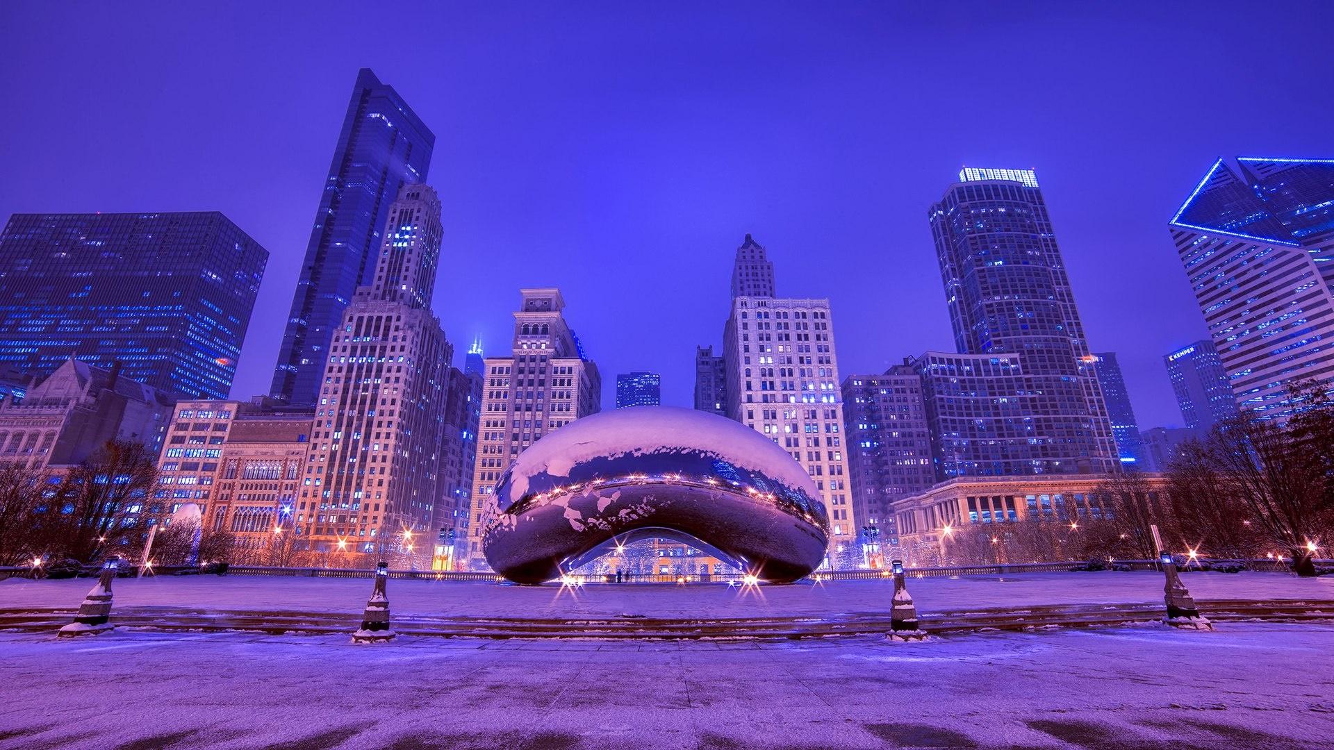 молодости чикаго ночью зима фото живет турции большой
