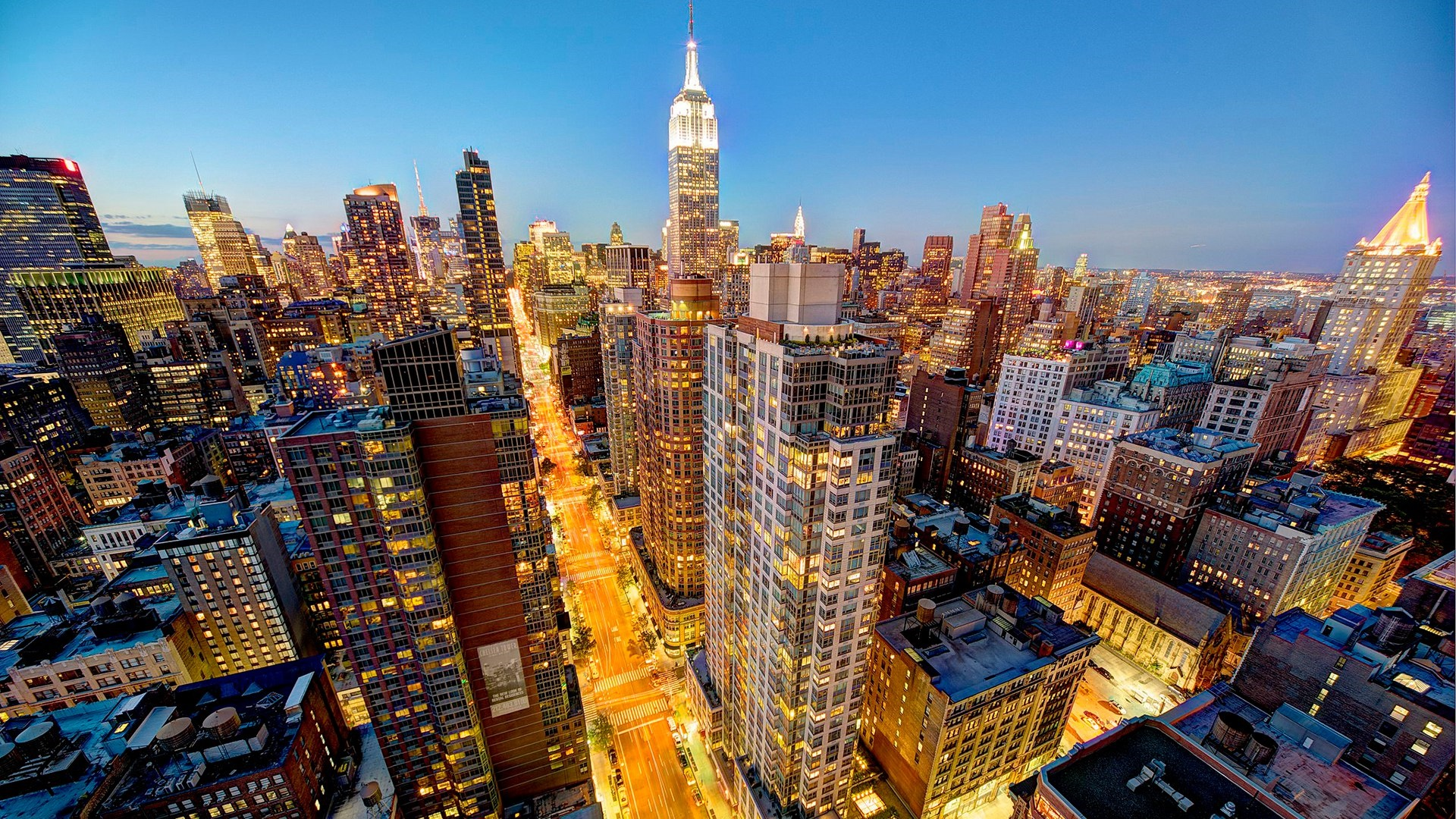 Empire State Building, New York wallpaper