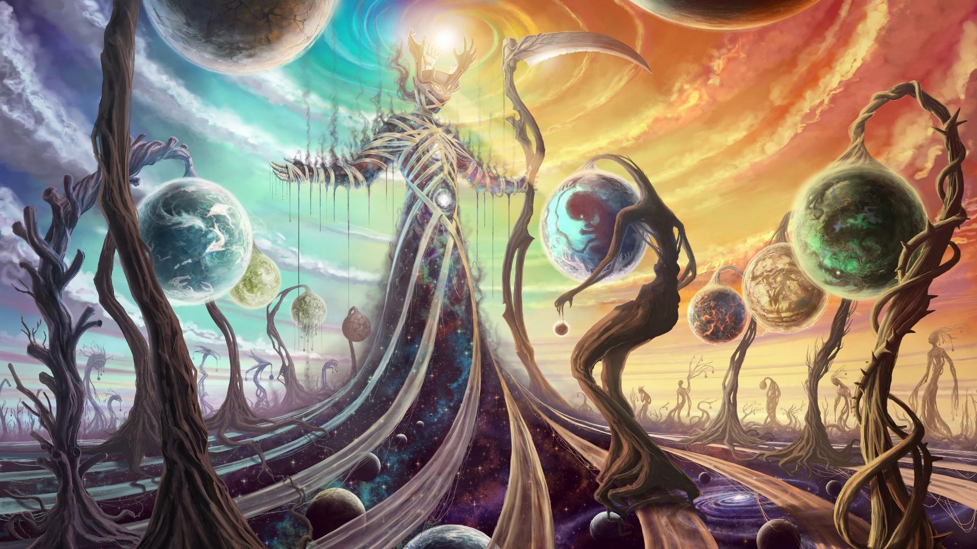 Fantasy universe wallpaper