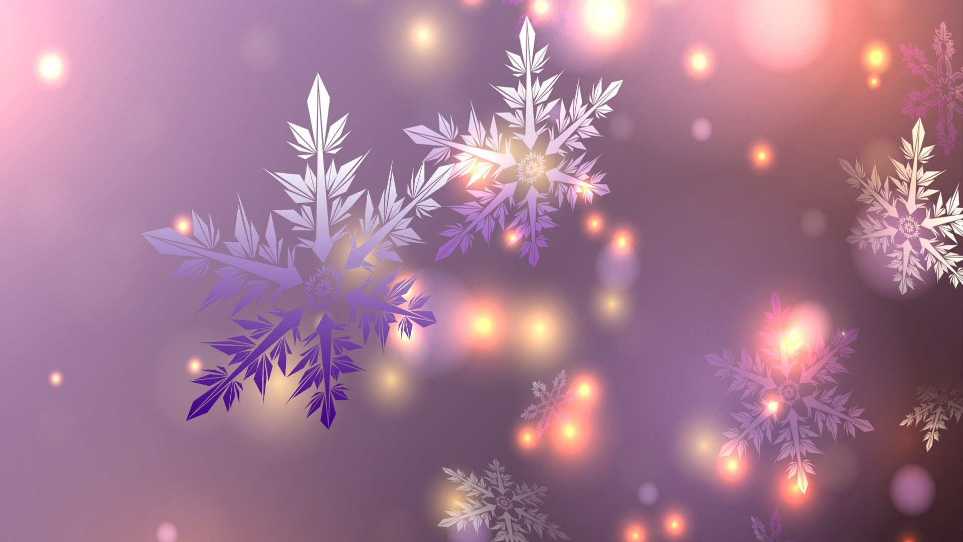 Magical Snow wallpaper