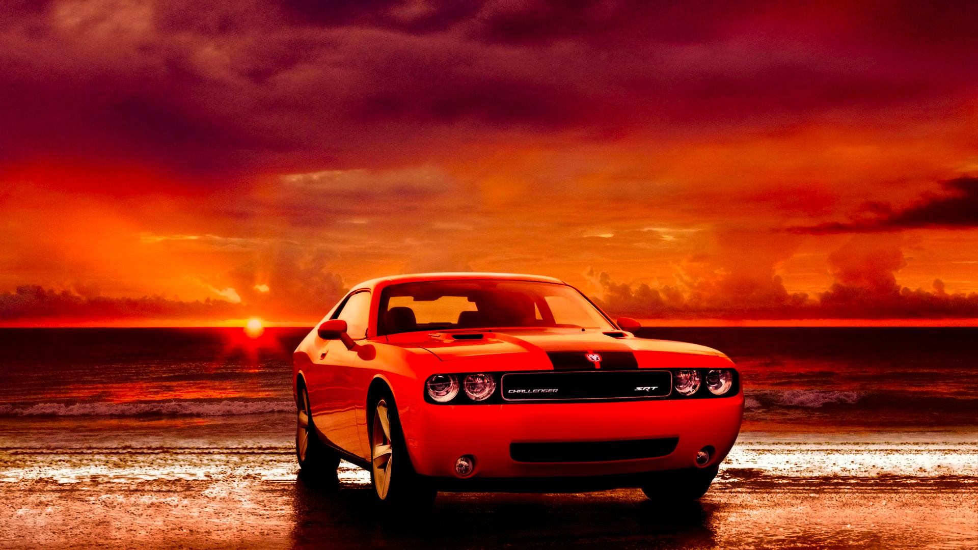 Dodge Challenger SRT HD Wallpaper - backiee - Free Ultra ...