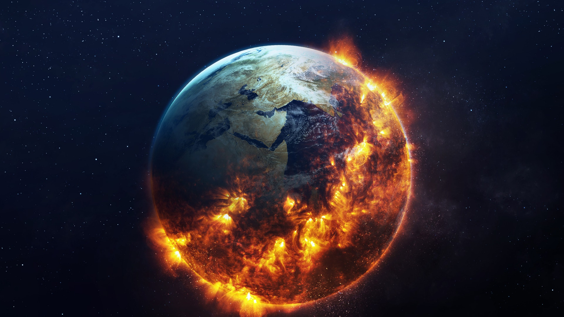 Apocalyptic Earth Hd Wallpaper Backiee Free Ultra Hd Wallpaper