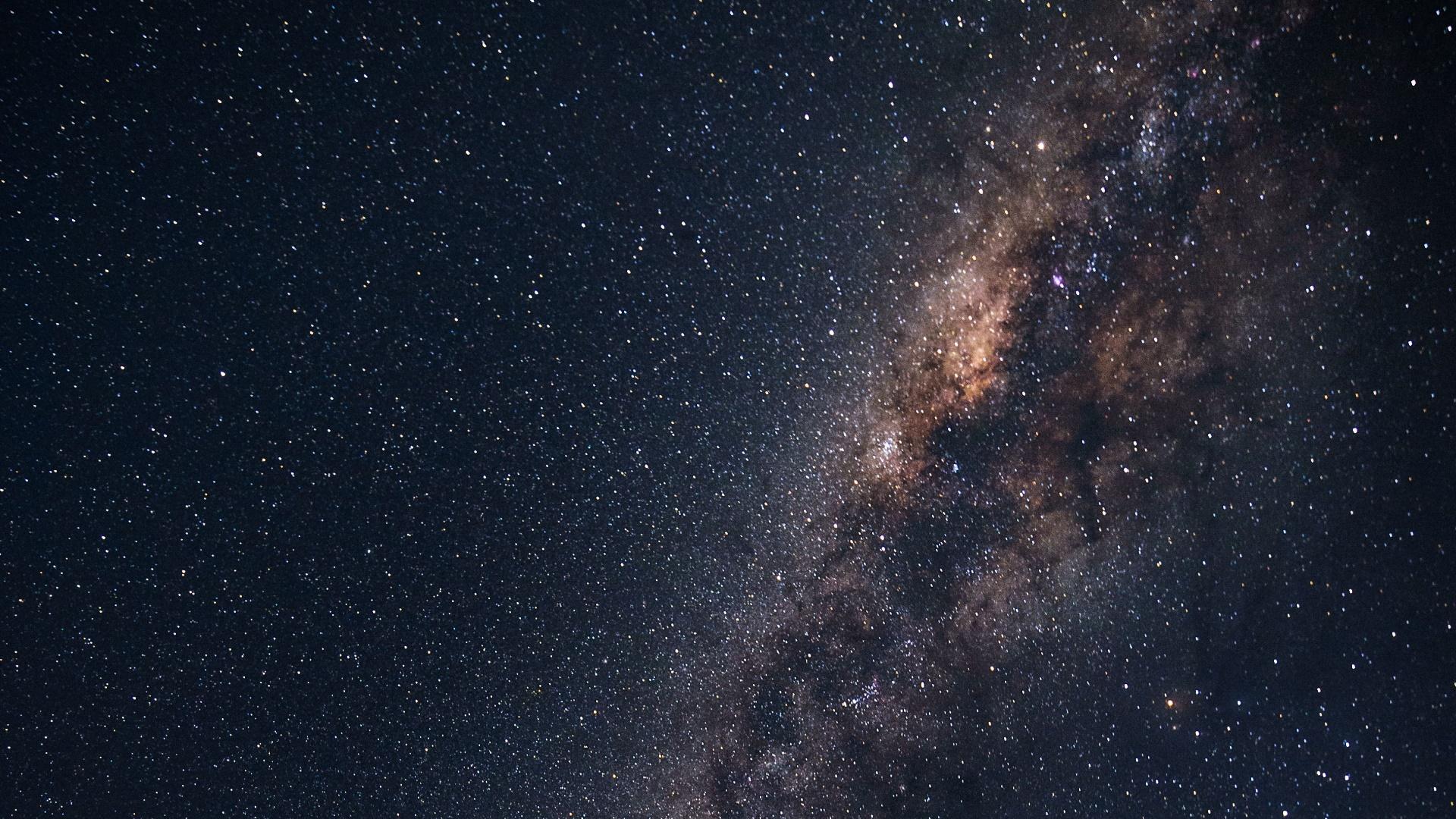 Sky and stars wallpaper