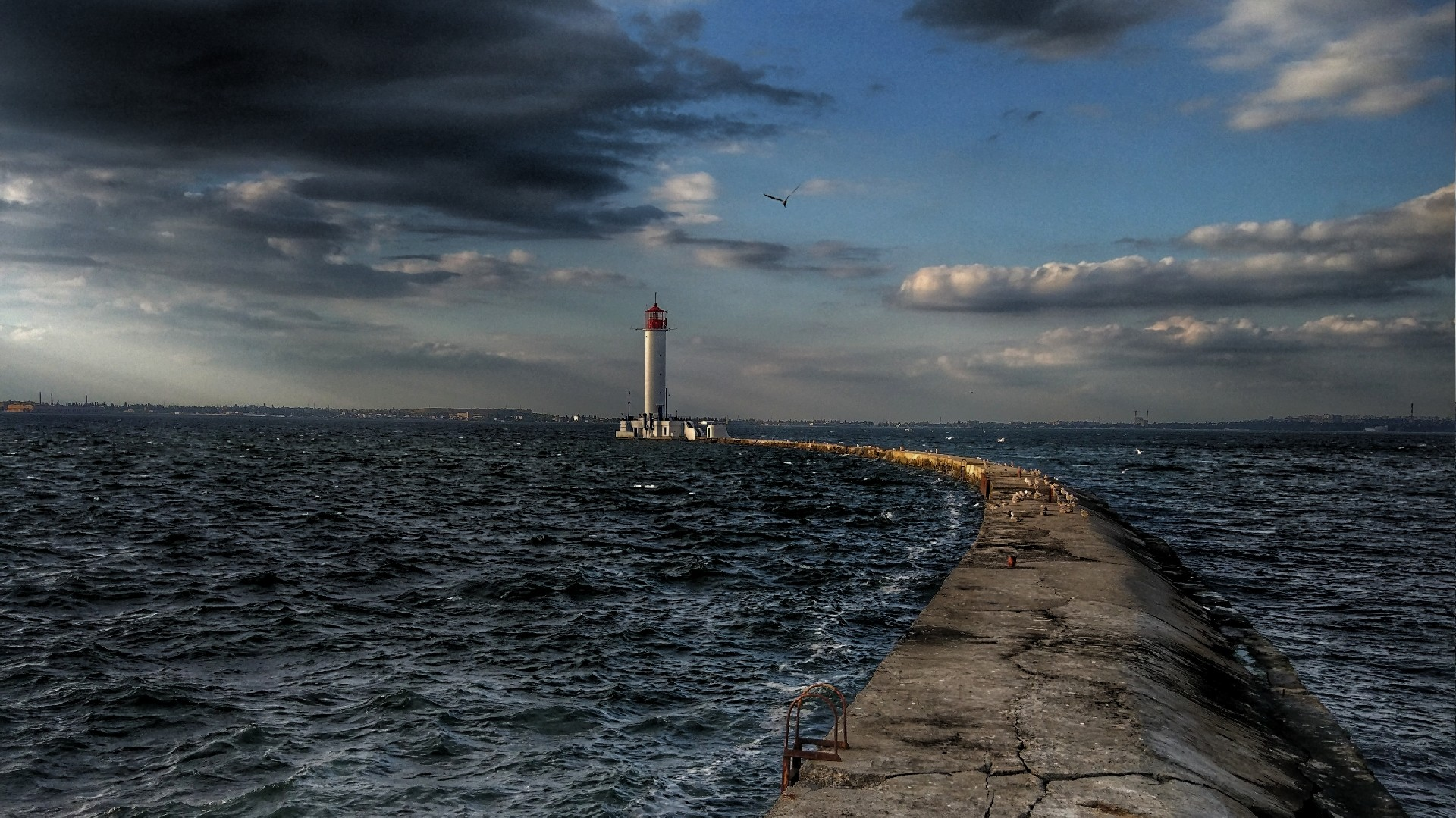 Vorontsov Lighthouse, Odessa wallpaper