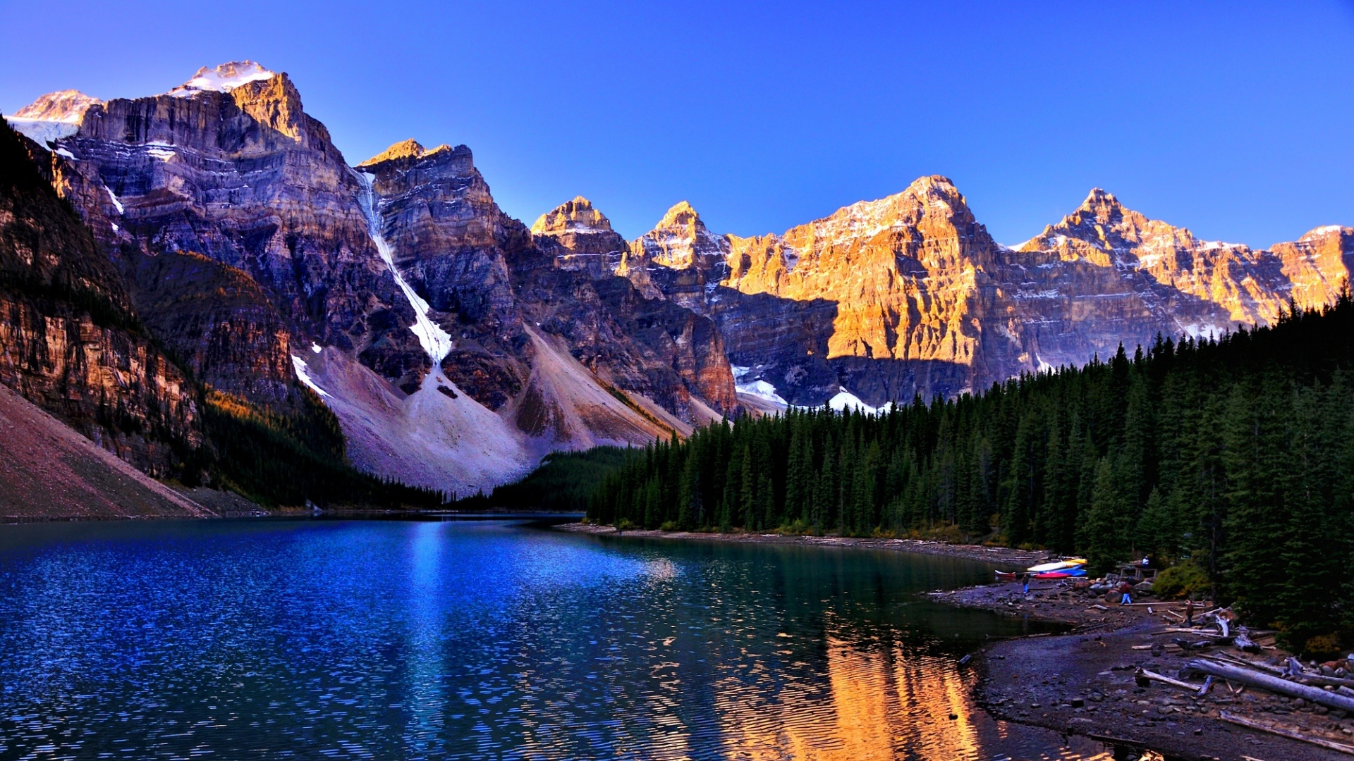 Moraine Lake, Banff National Park wallpaper