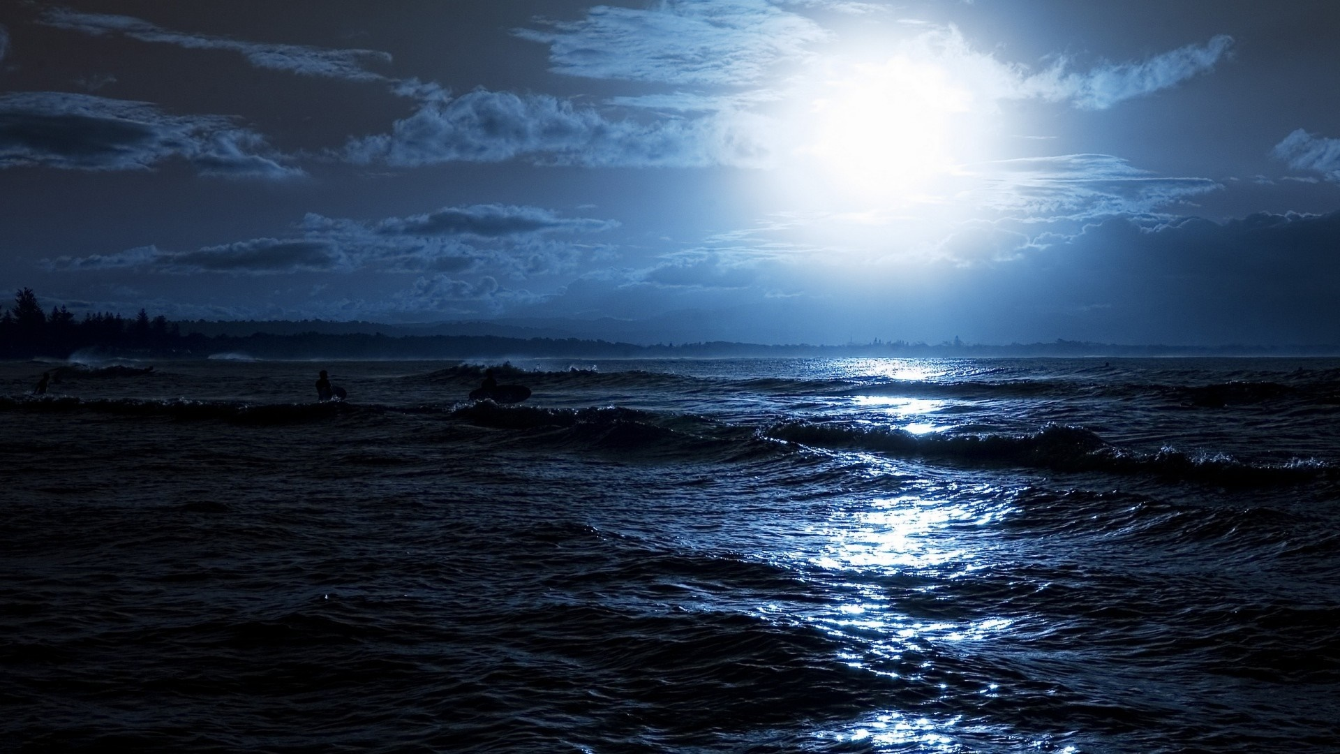 Night Sea wallpaper