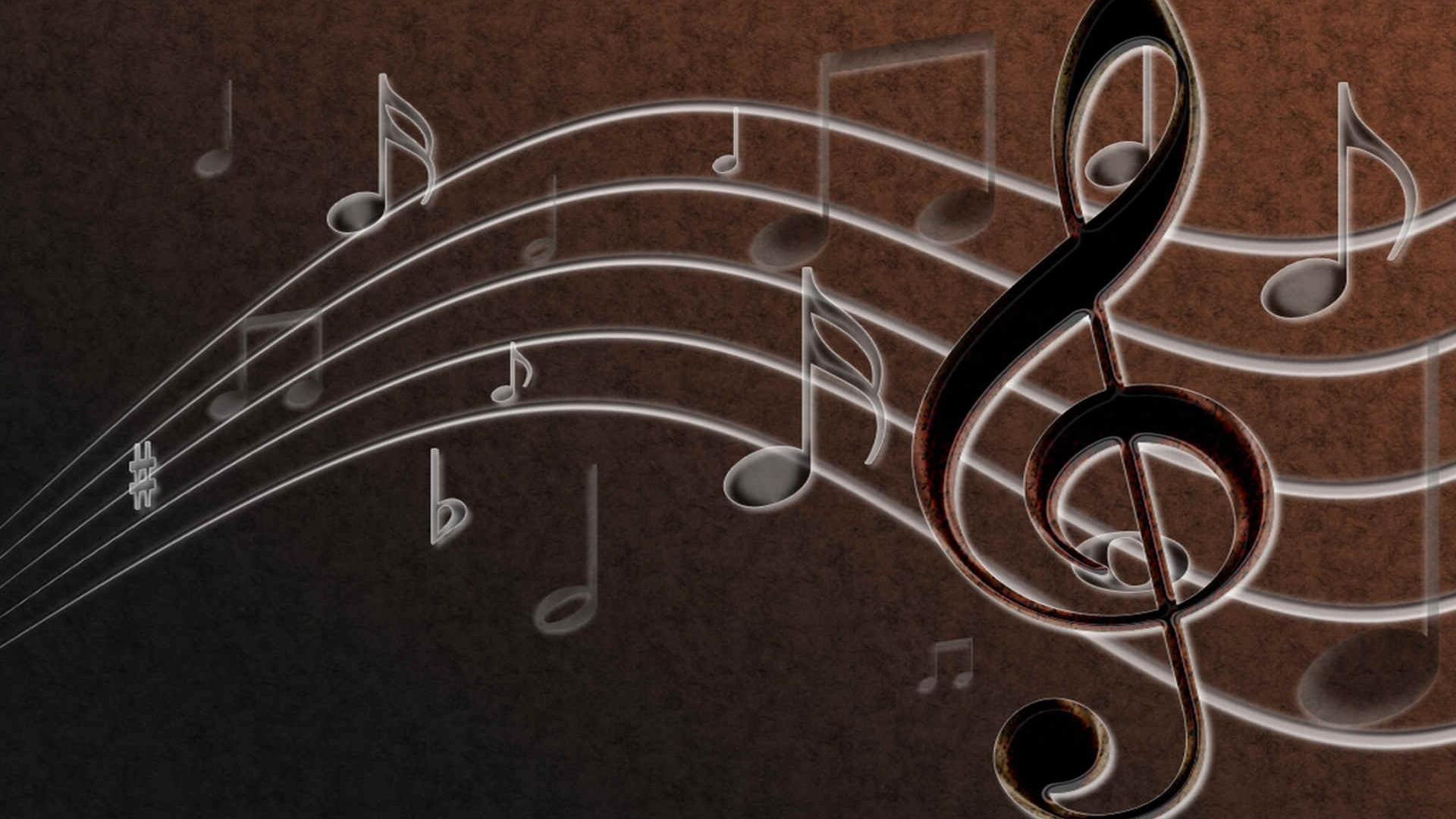 Treble clef wallpaper