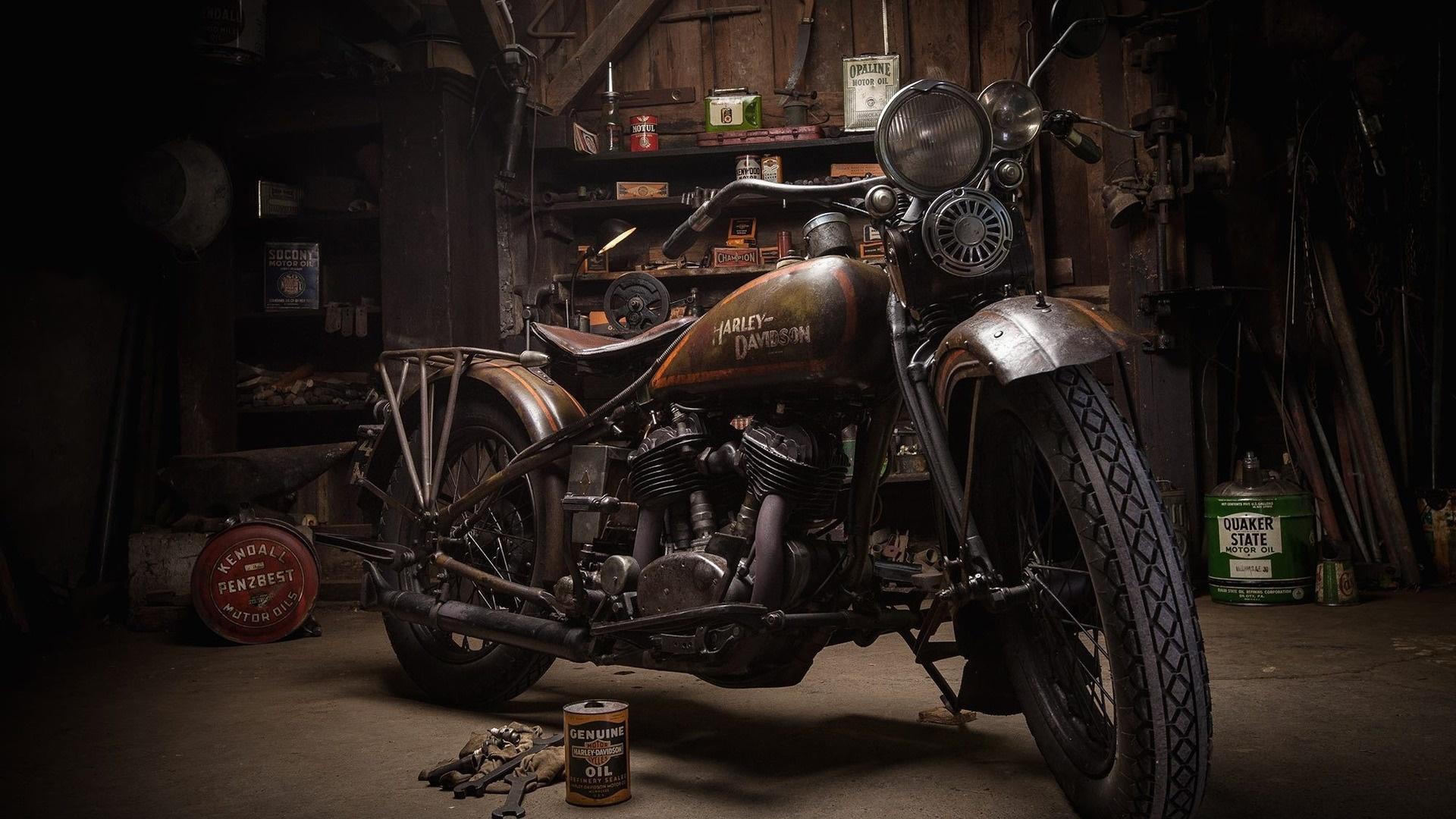 Old Harley-Davidson wallpaper