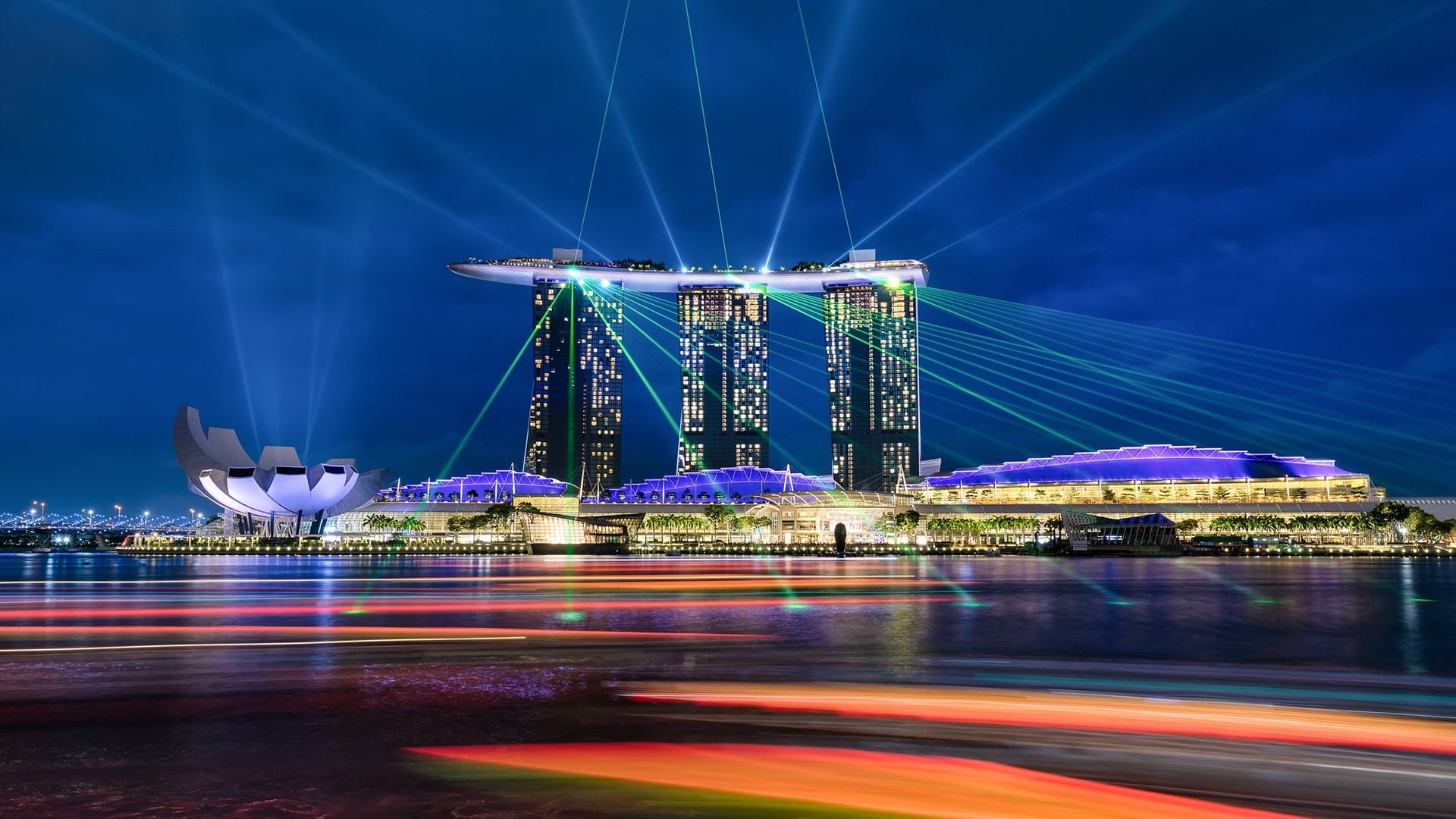 Marina Bay Sands, Singapore wallpaper