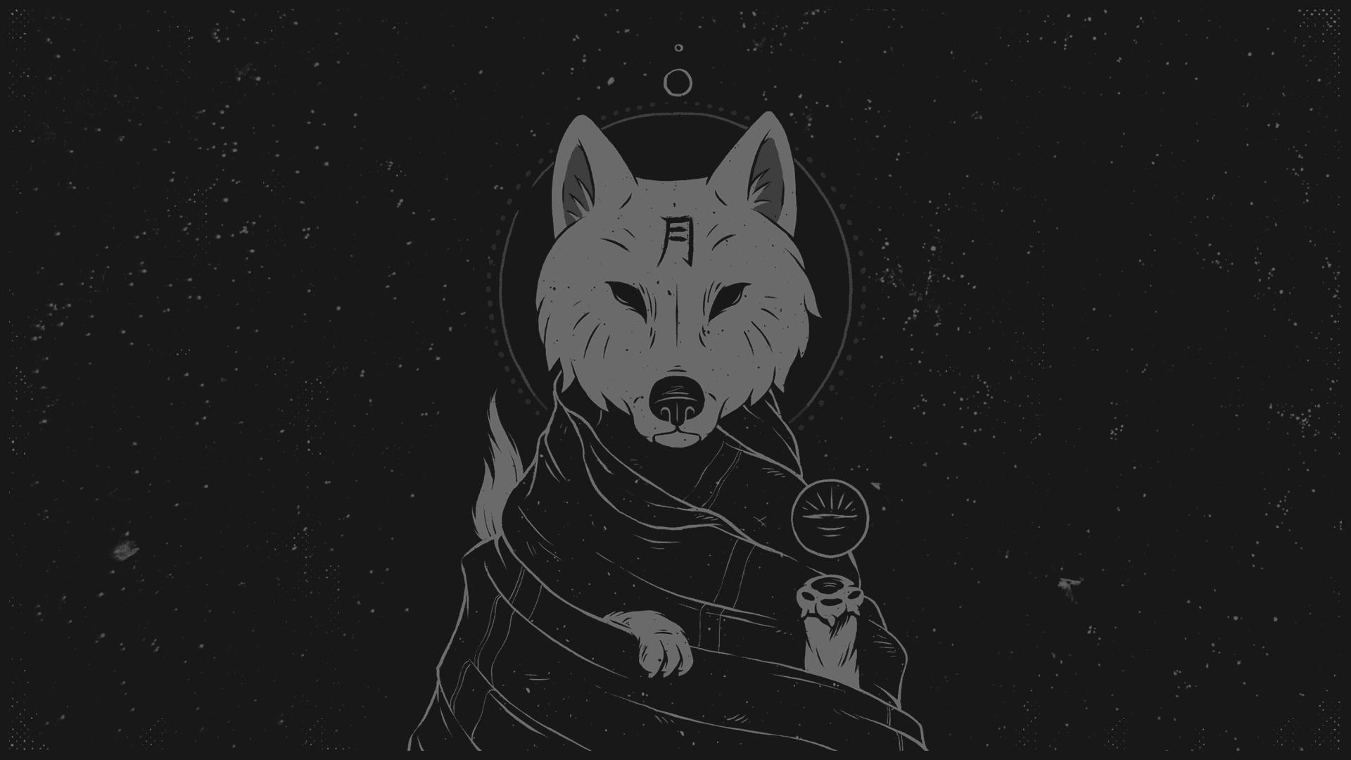 Wise Wolf  wallpaper