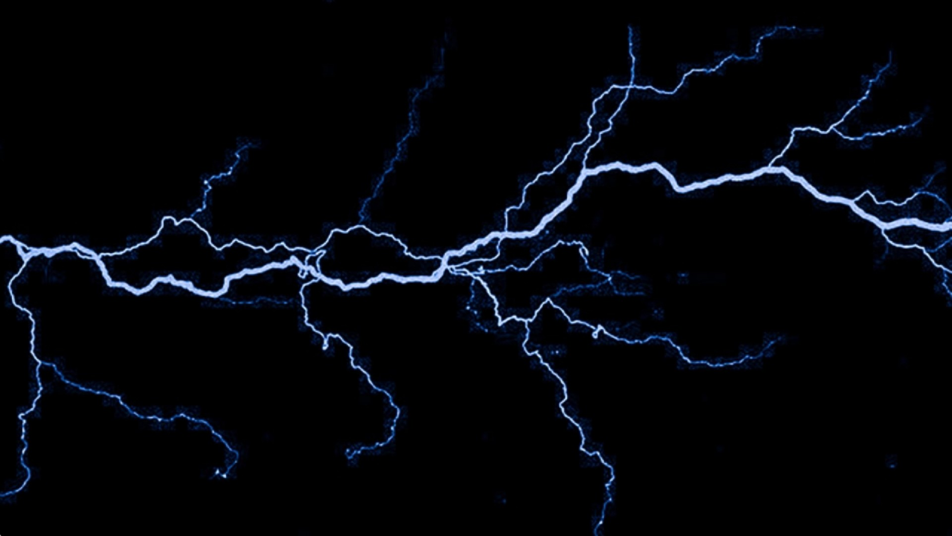 Dark blue lightning wallpaper