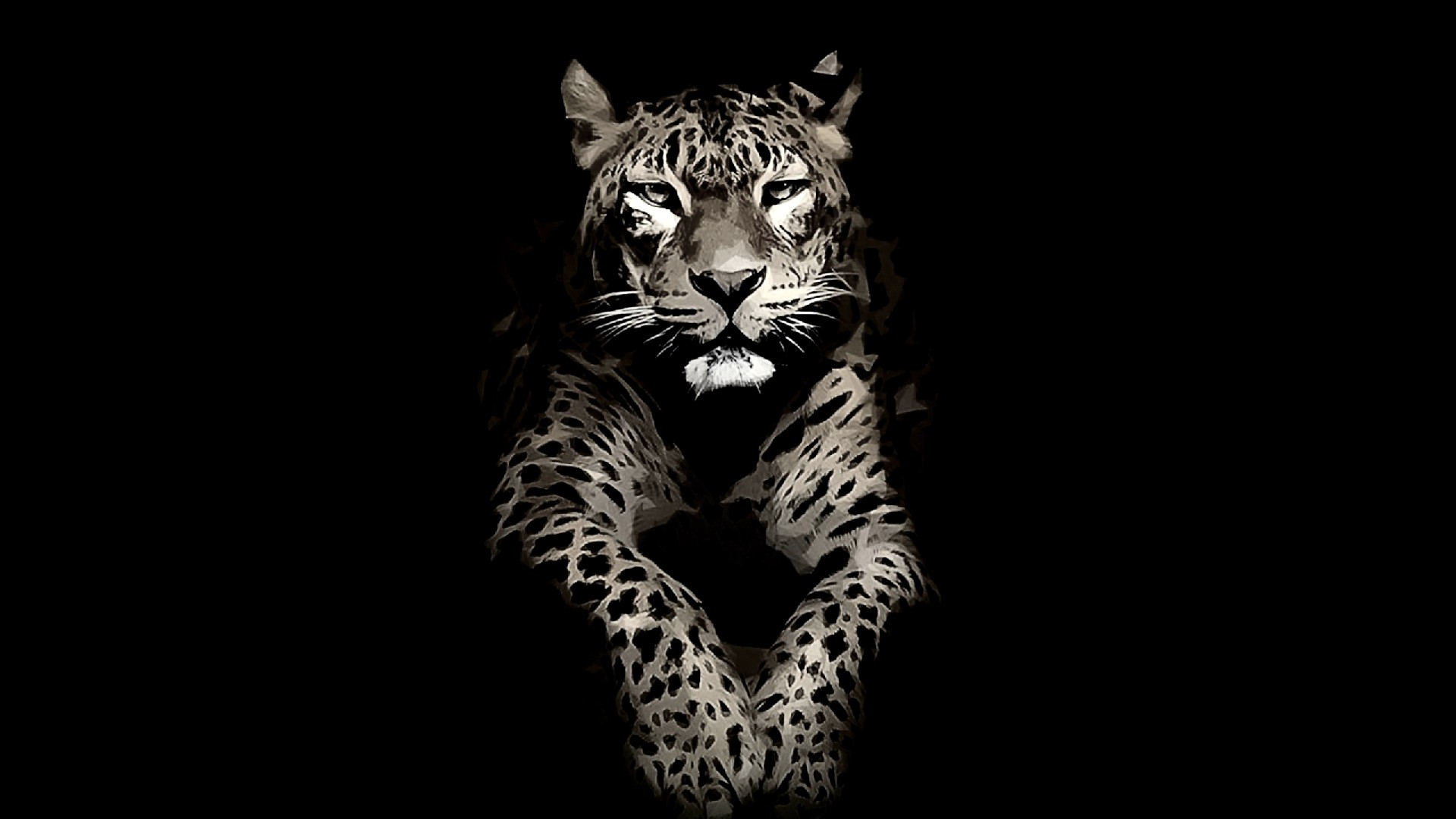 Paint jaguar wallpaper