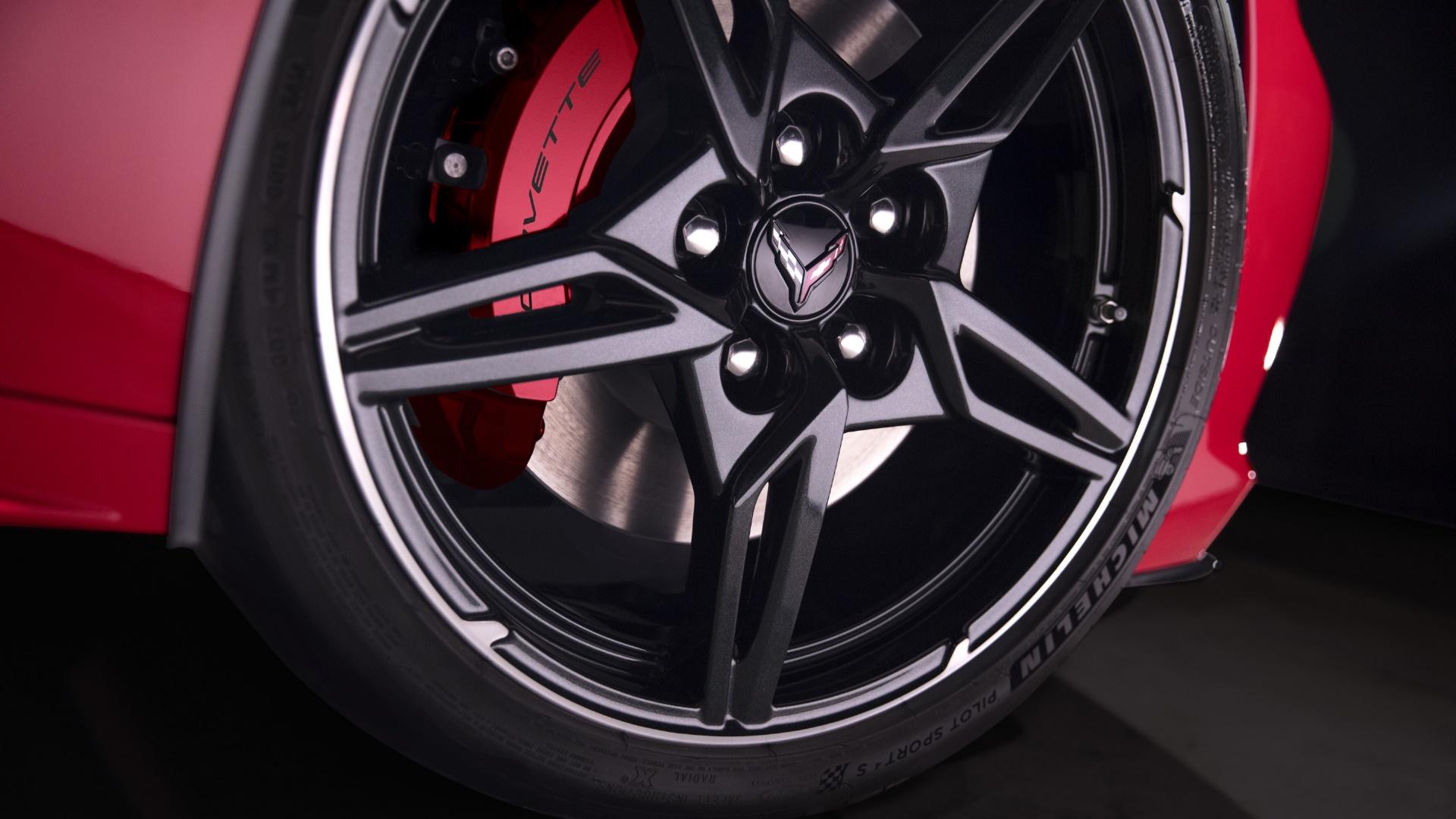 C8 Corvette Wheel wallpaper