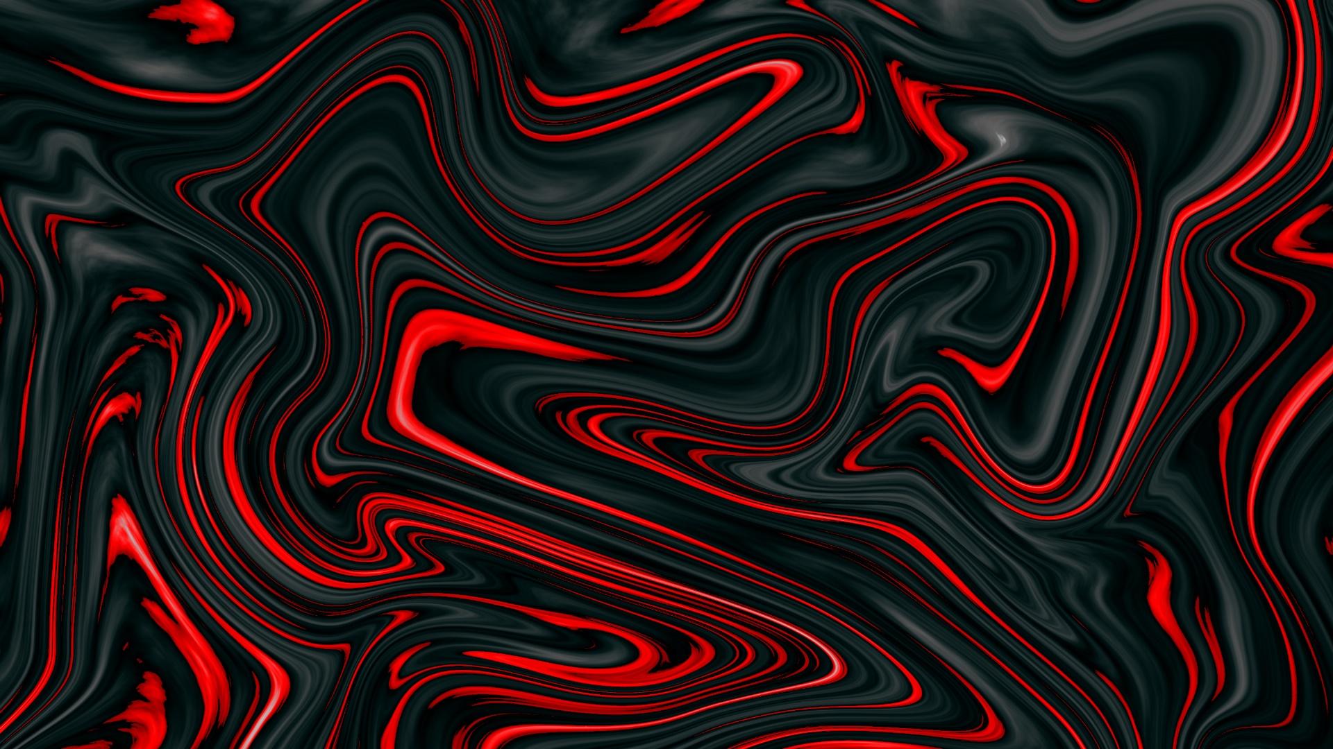 red swirls wallpaper