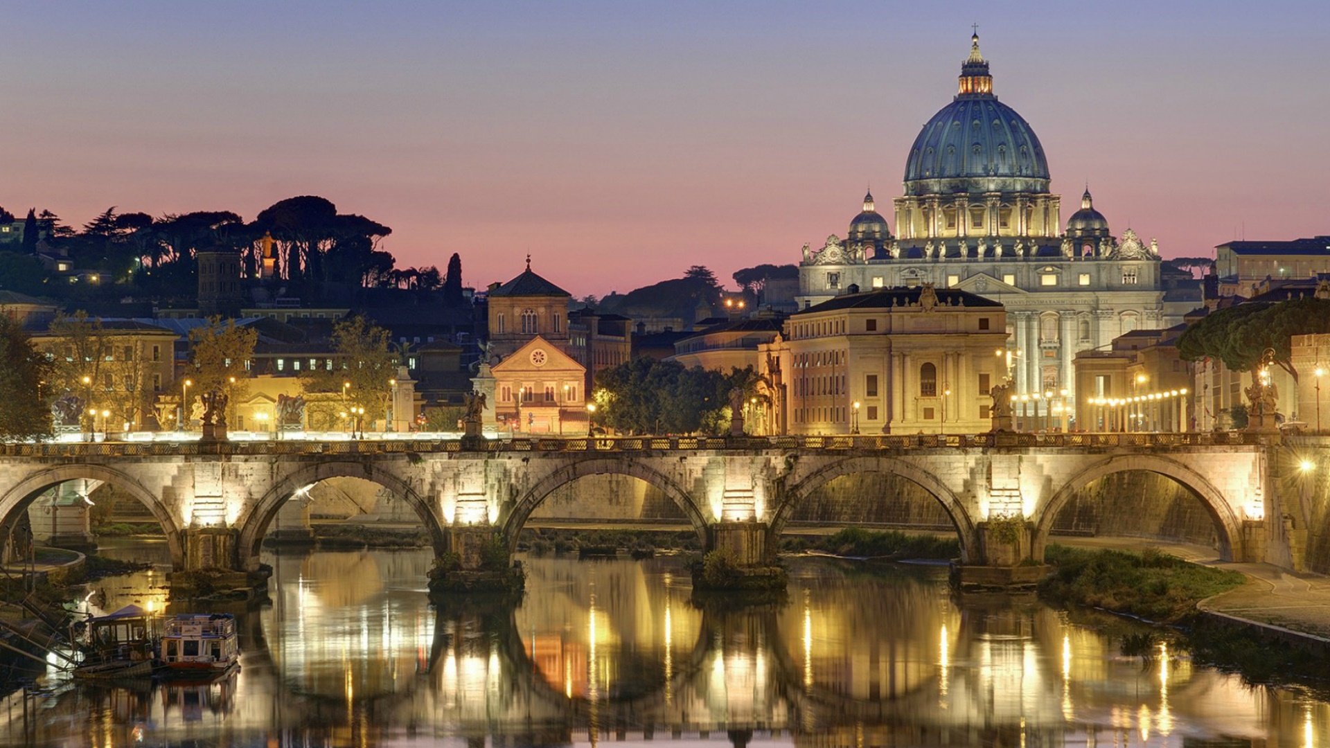St. Angelo Bridge wallpaper