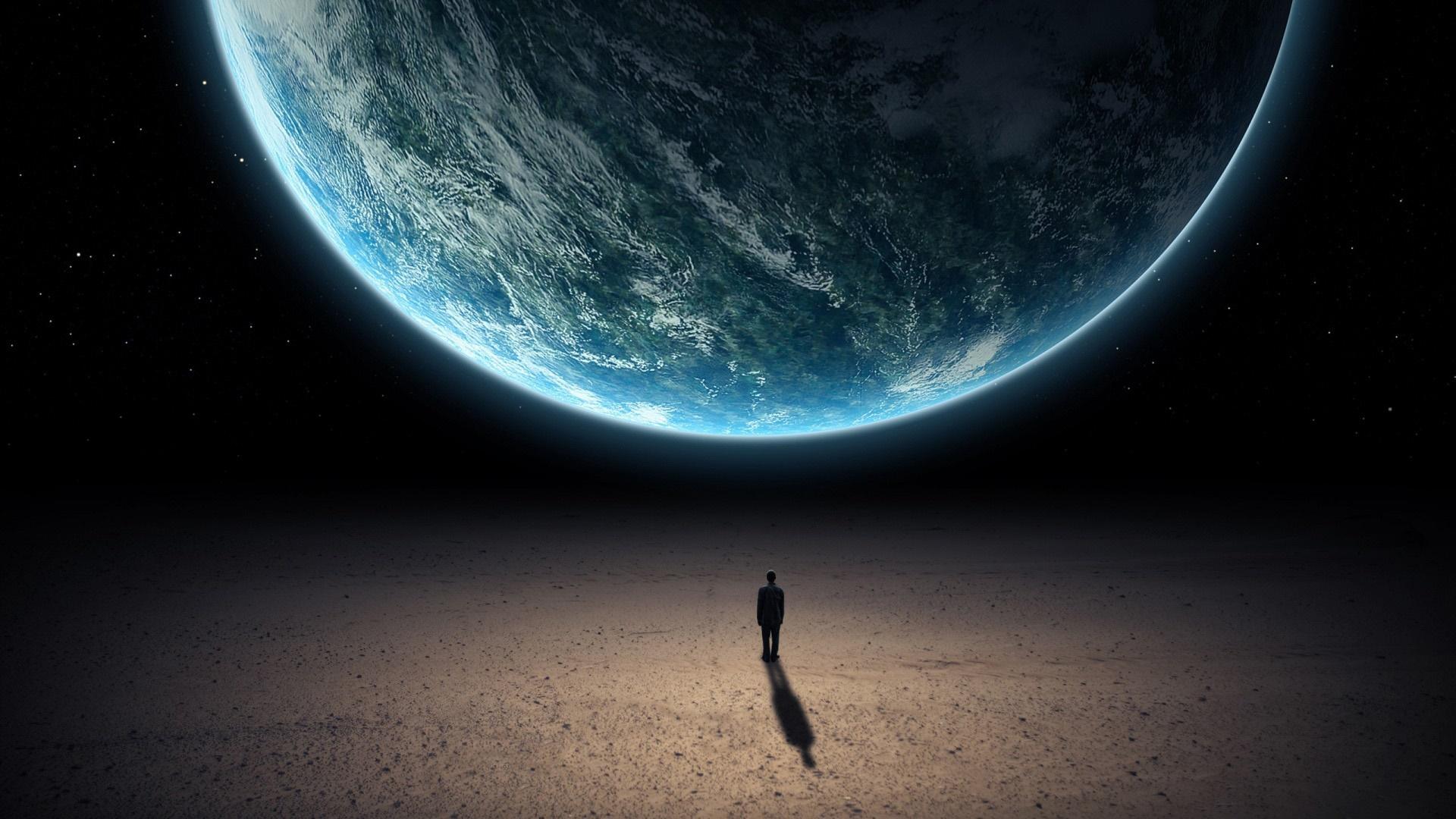 Alone in the universe wallpaper