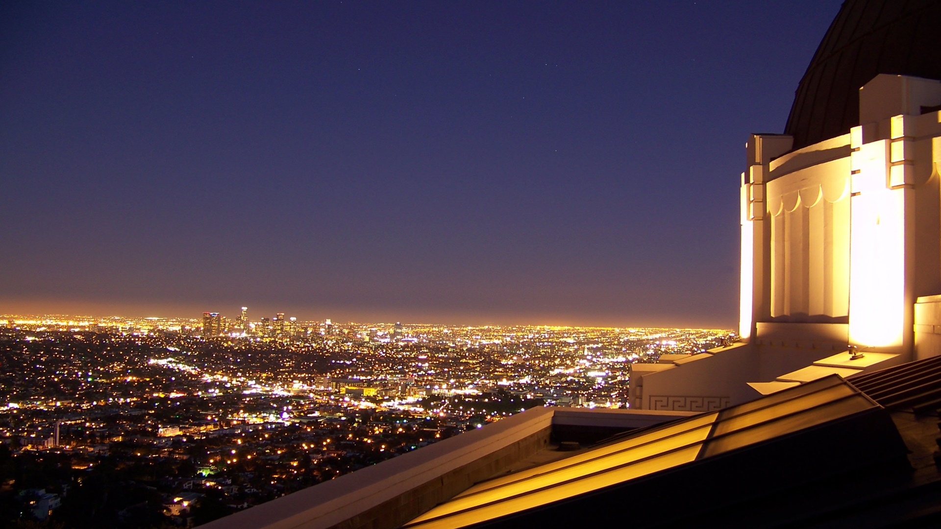 Los Angeles from Griffith Observatory wallpaper