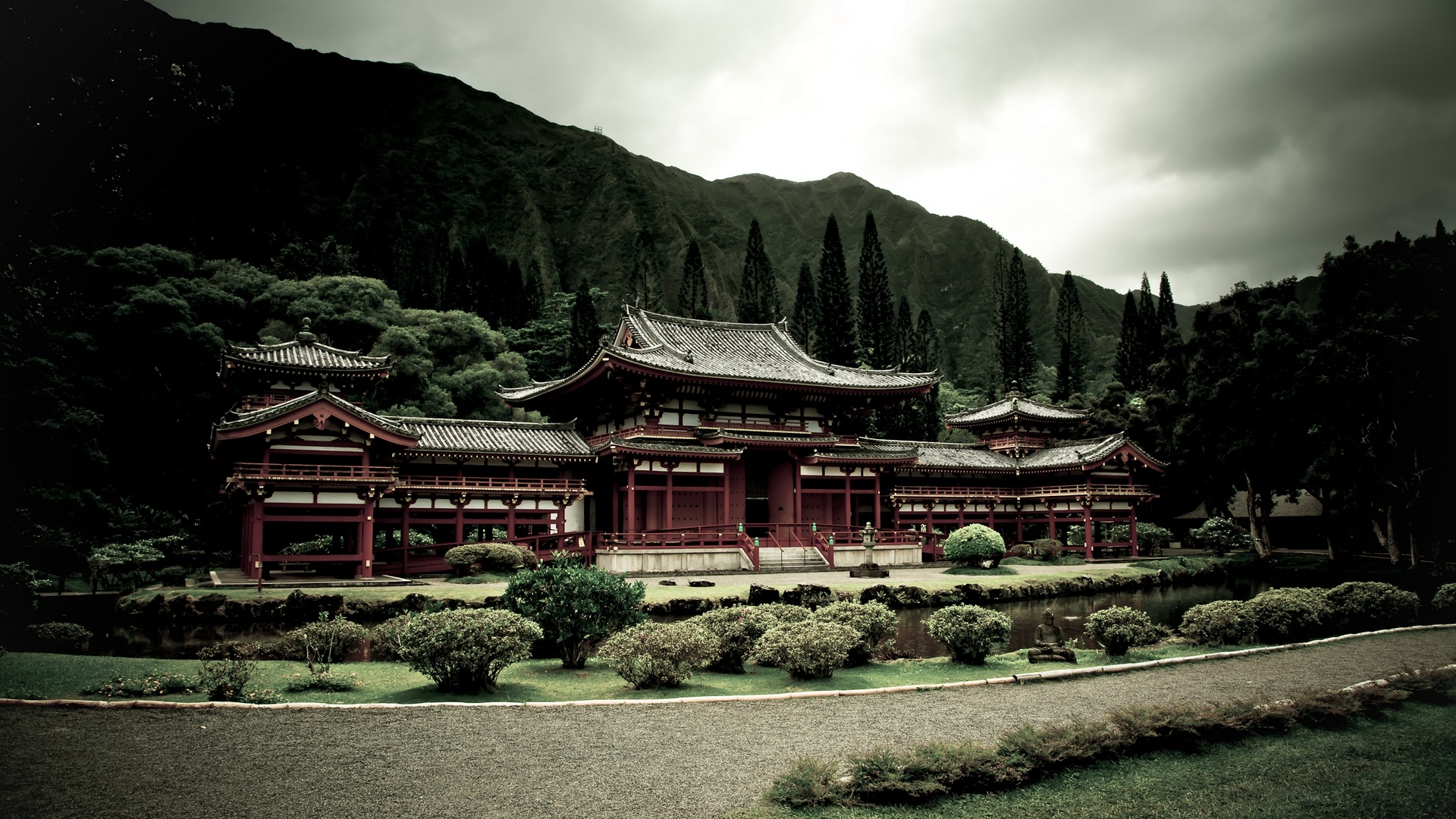Byodo-In Temple wallpaper