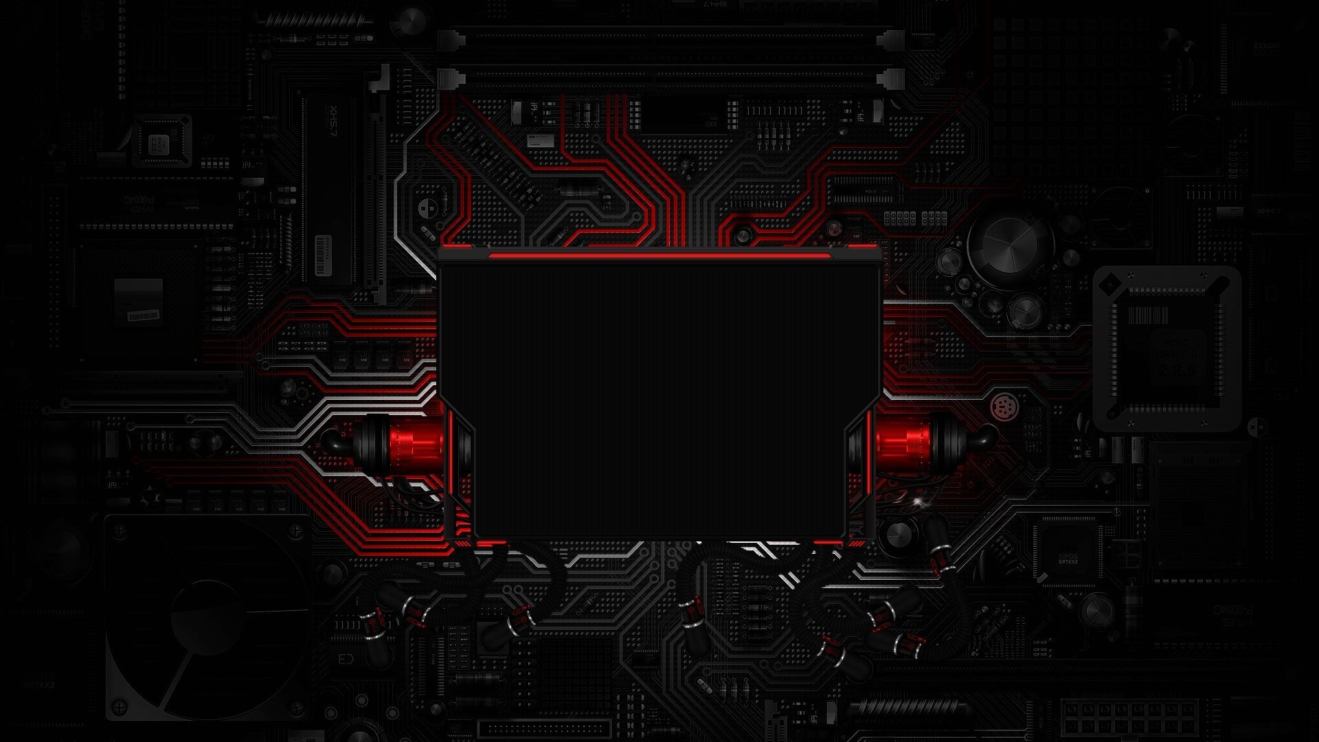 Red Logon Template wallpaper
