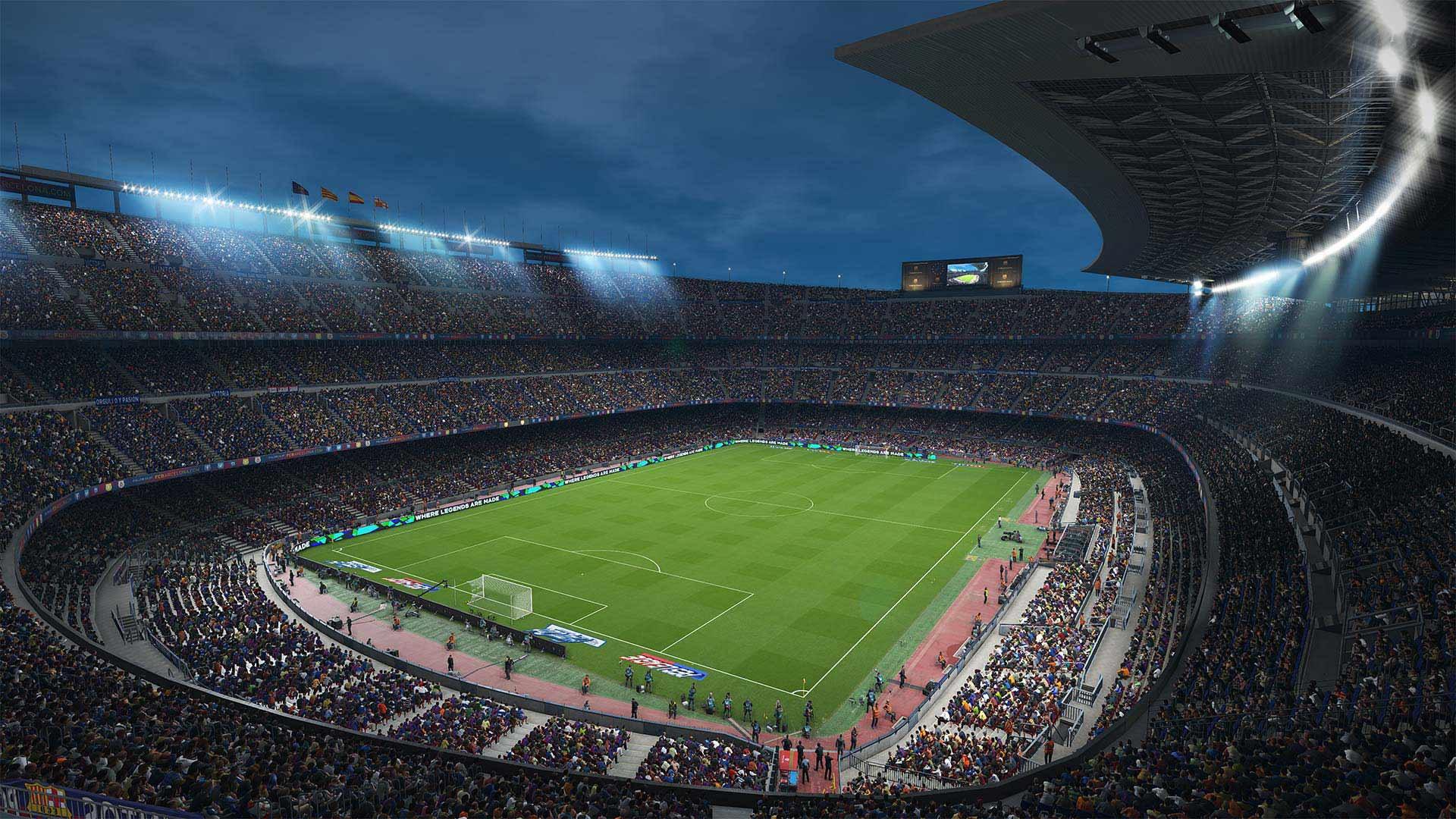 Camp Nou PES 2018 wallpaper