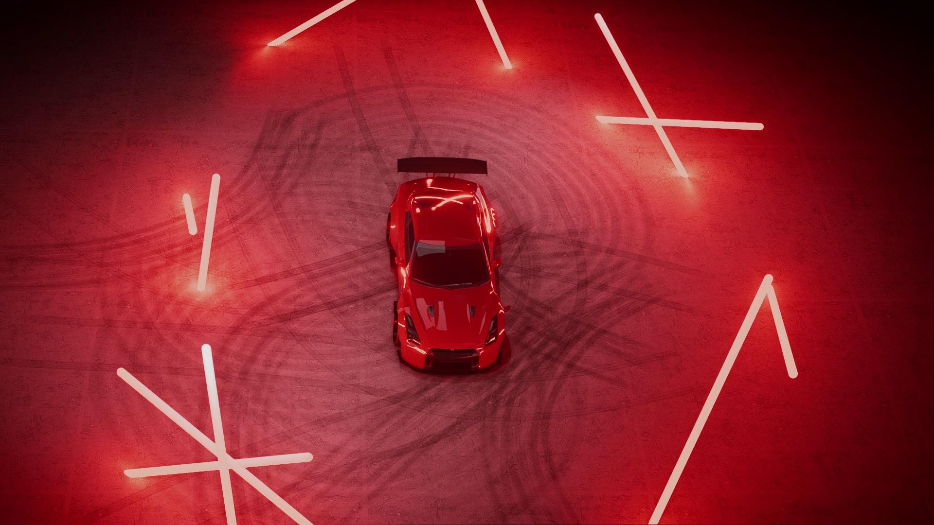 Nissan GT-R R35 RED THEME wallpaper