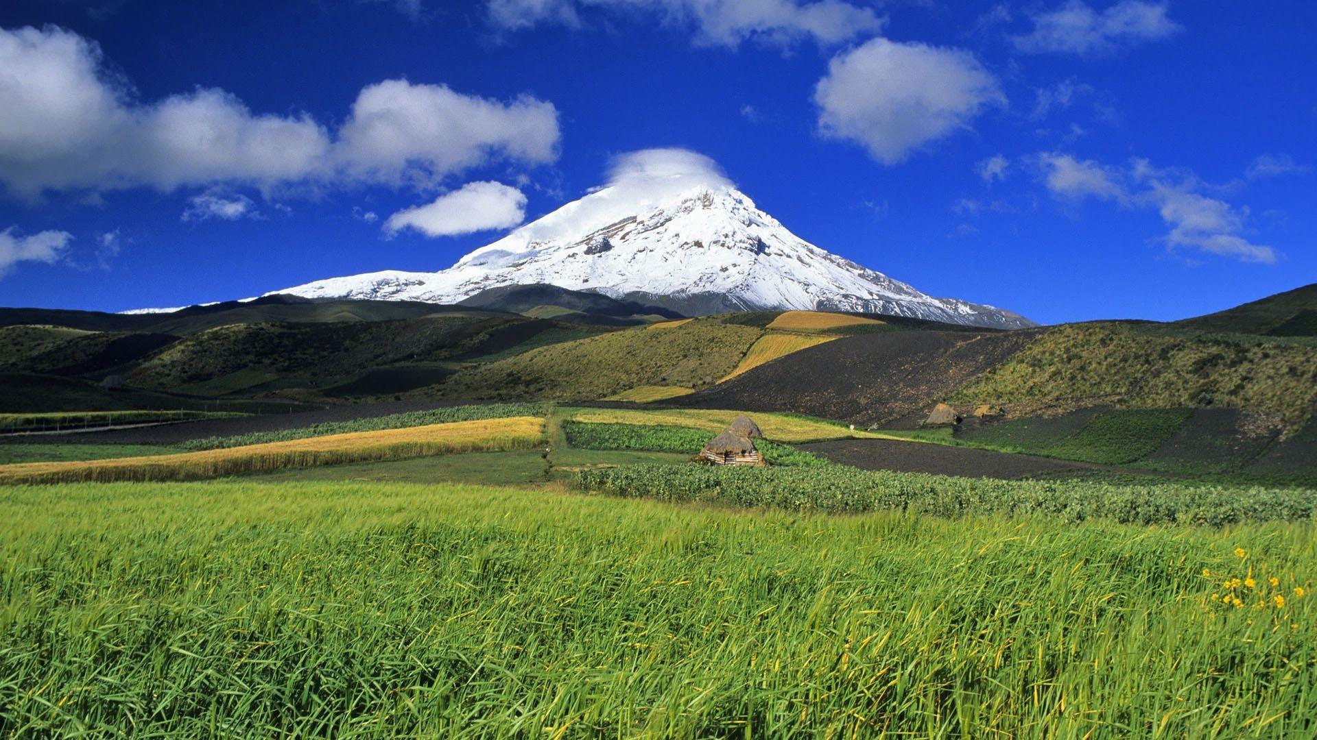 Chimborazo volcano wallpaper