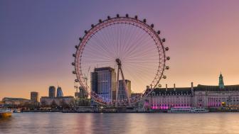 London Eye wallpaper