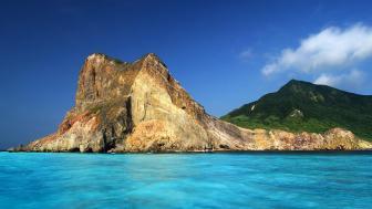 Tortuga Island wallpaper