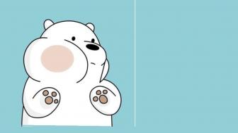 Adorable Polar Bear wallpaper
