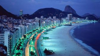 Copacabana Beach wallpaper