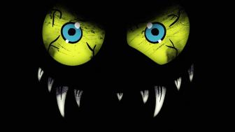 green eyed monster monster wallpaper