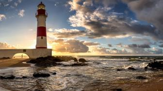Itapuã Lighthouse wallpaper