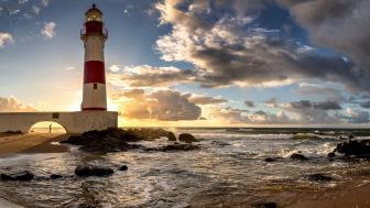 Itapuã Lighthouse wallpaper