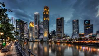 Singapore city wallpaper