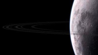 Planetary ring wallpaper