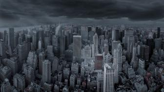 New York Dark wallpaper