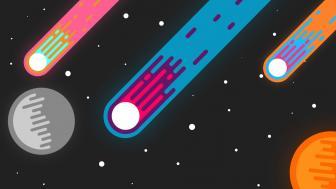 Space minimal wallpaper
