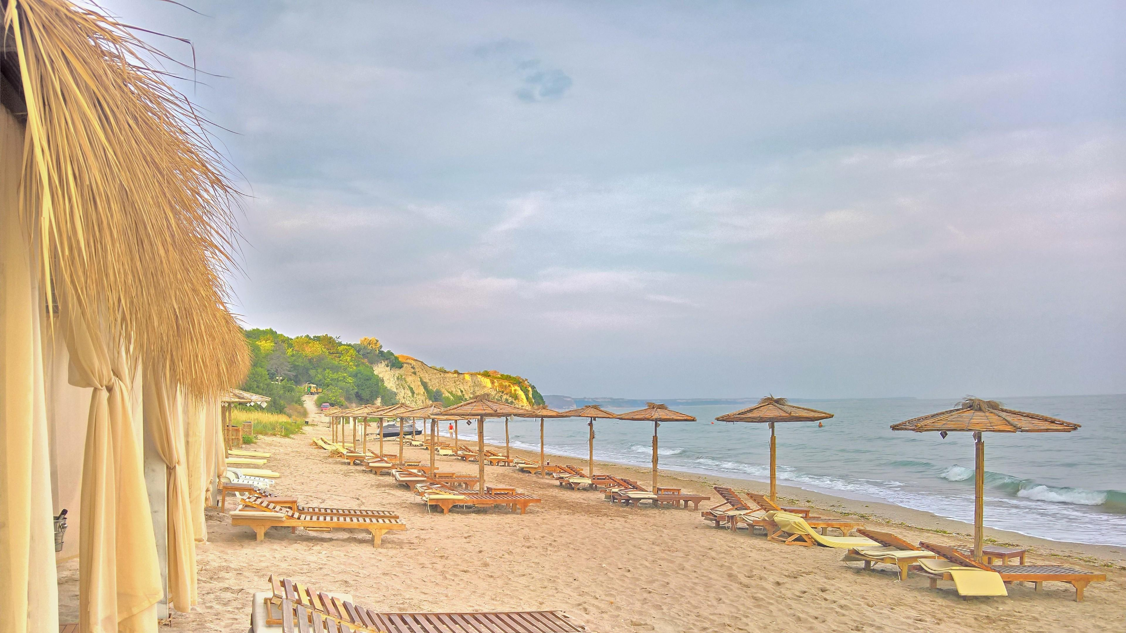 Beach in Bulgaria wallpaper