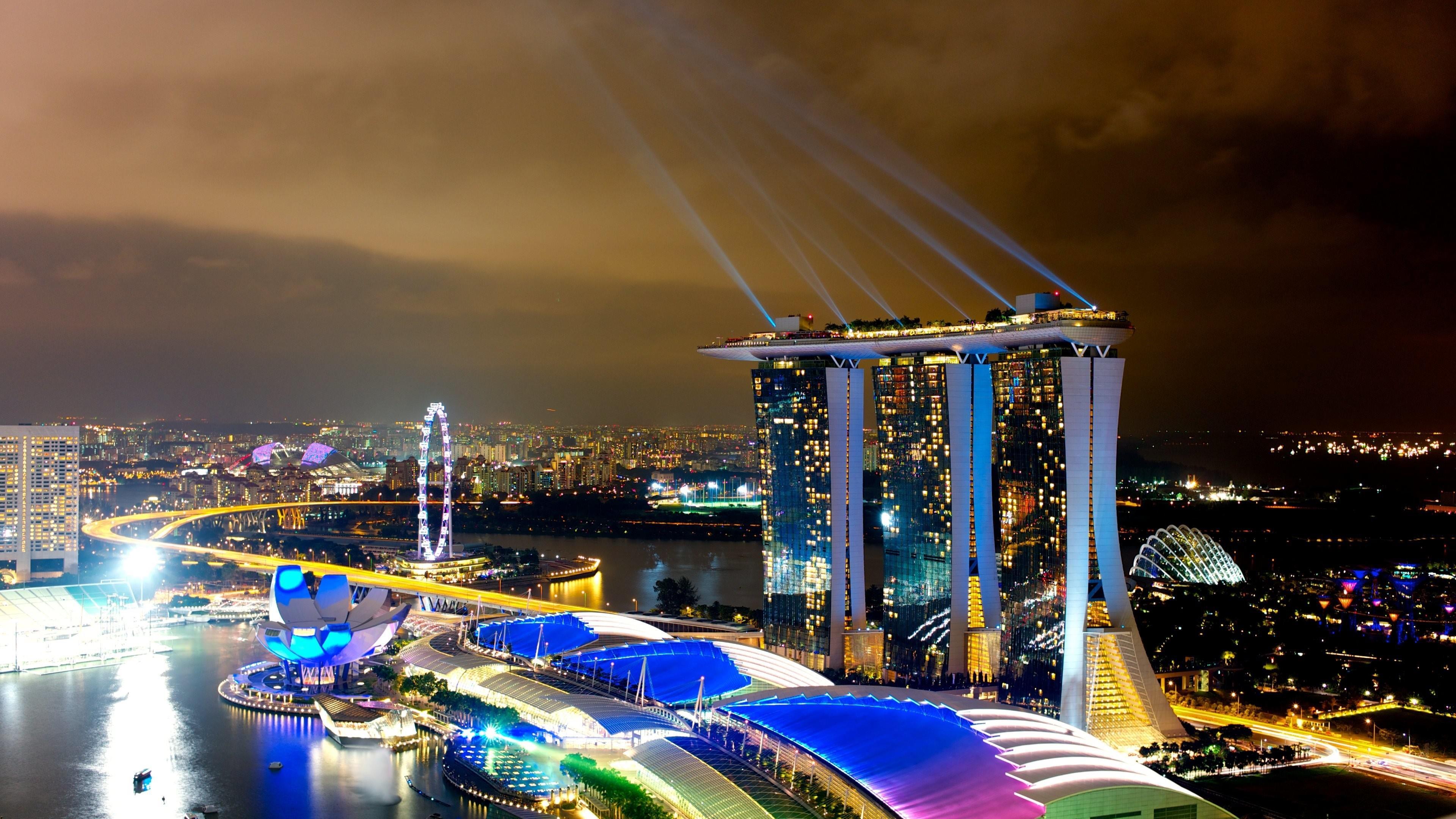 Marina Bay - Singapore wallpaper