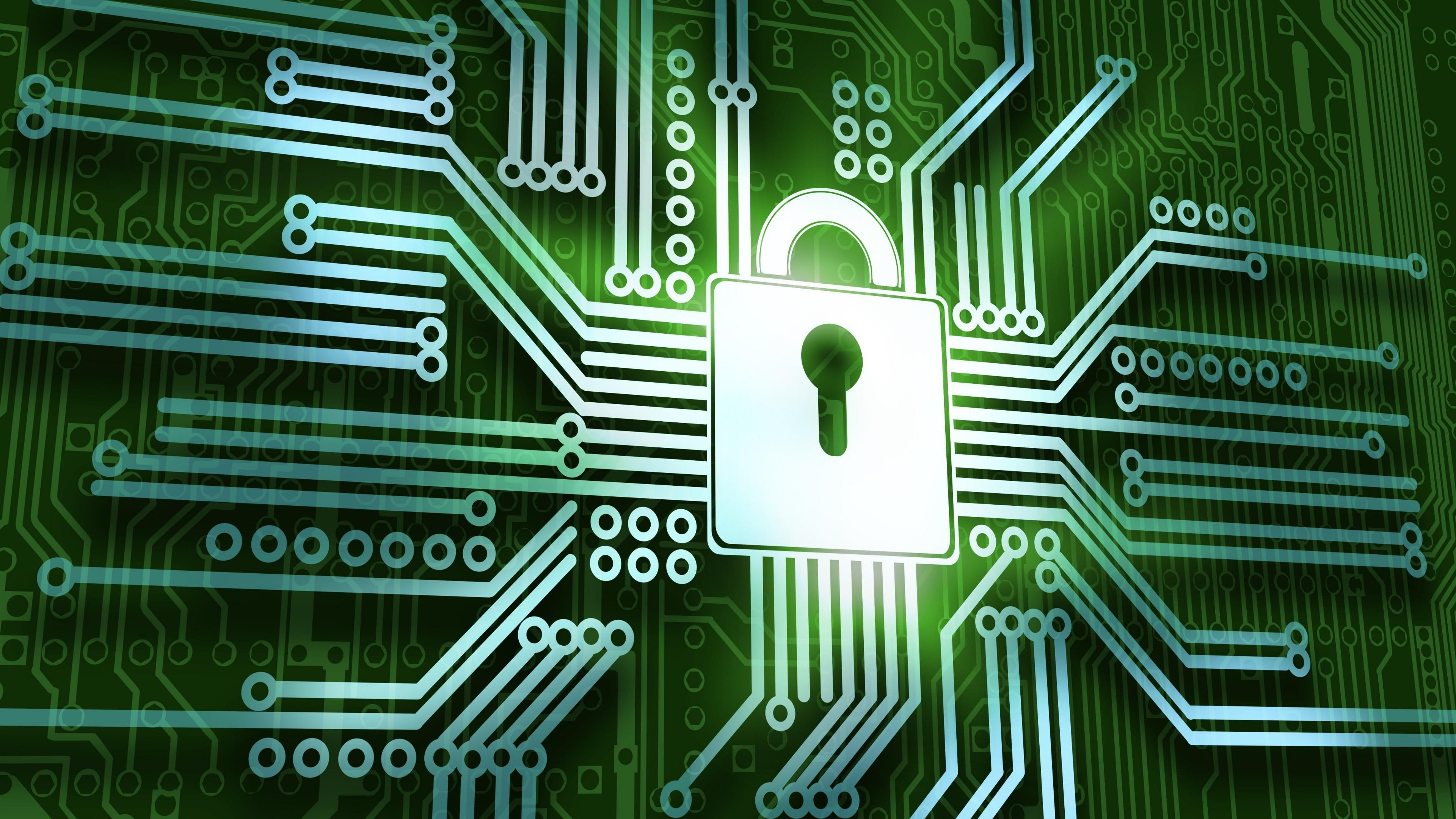 Computer security against hacking wallpaper