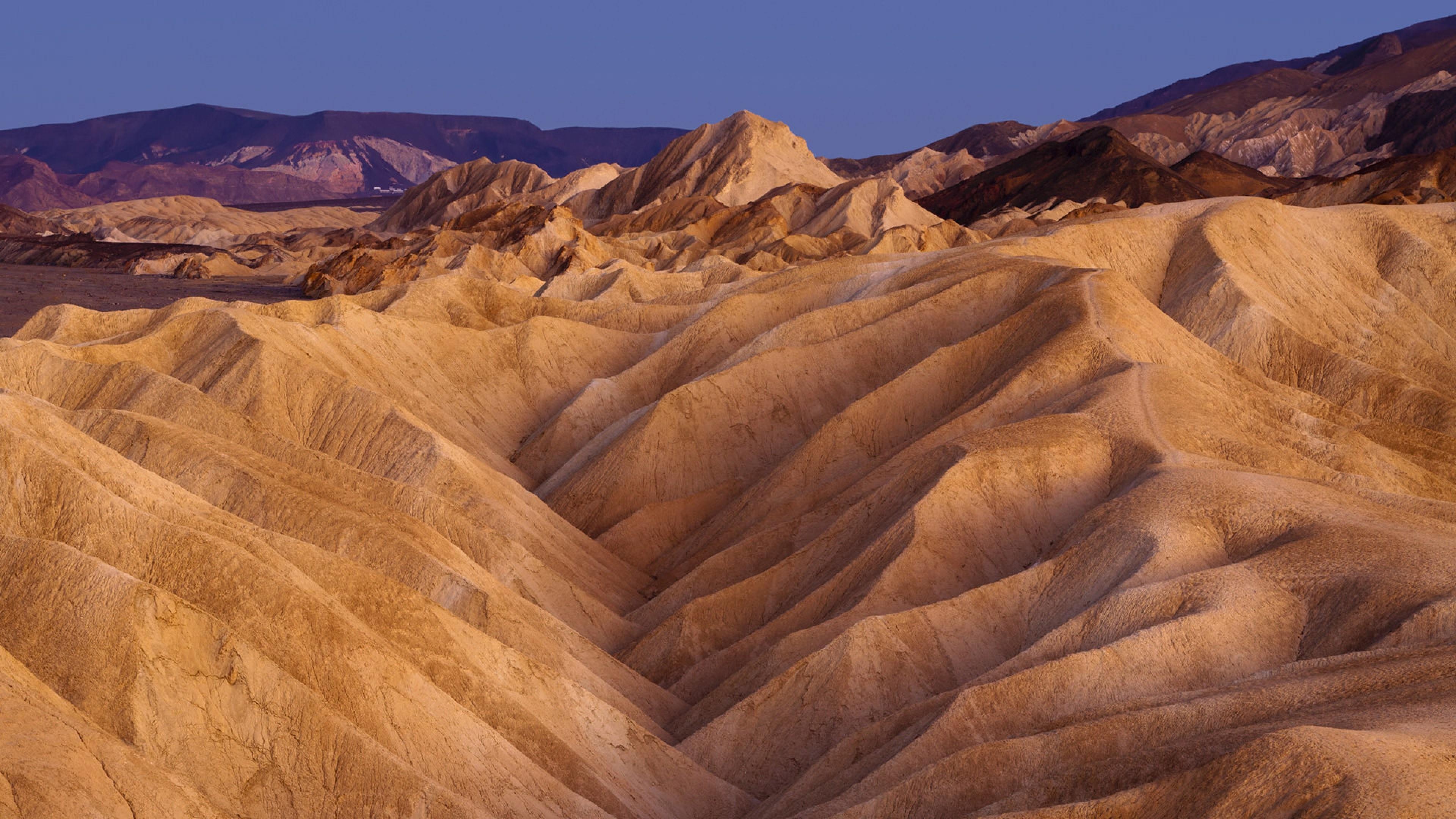 Zabriskie Point - Death Valley National Park wallpaper