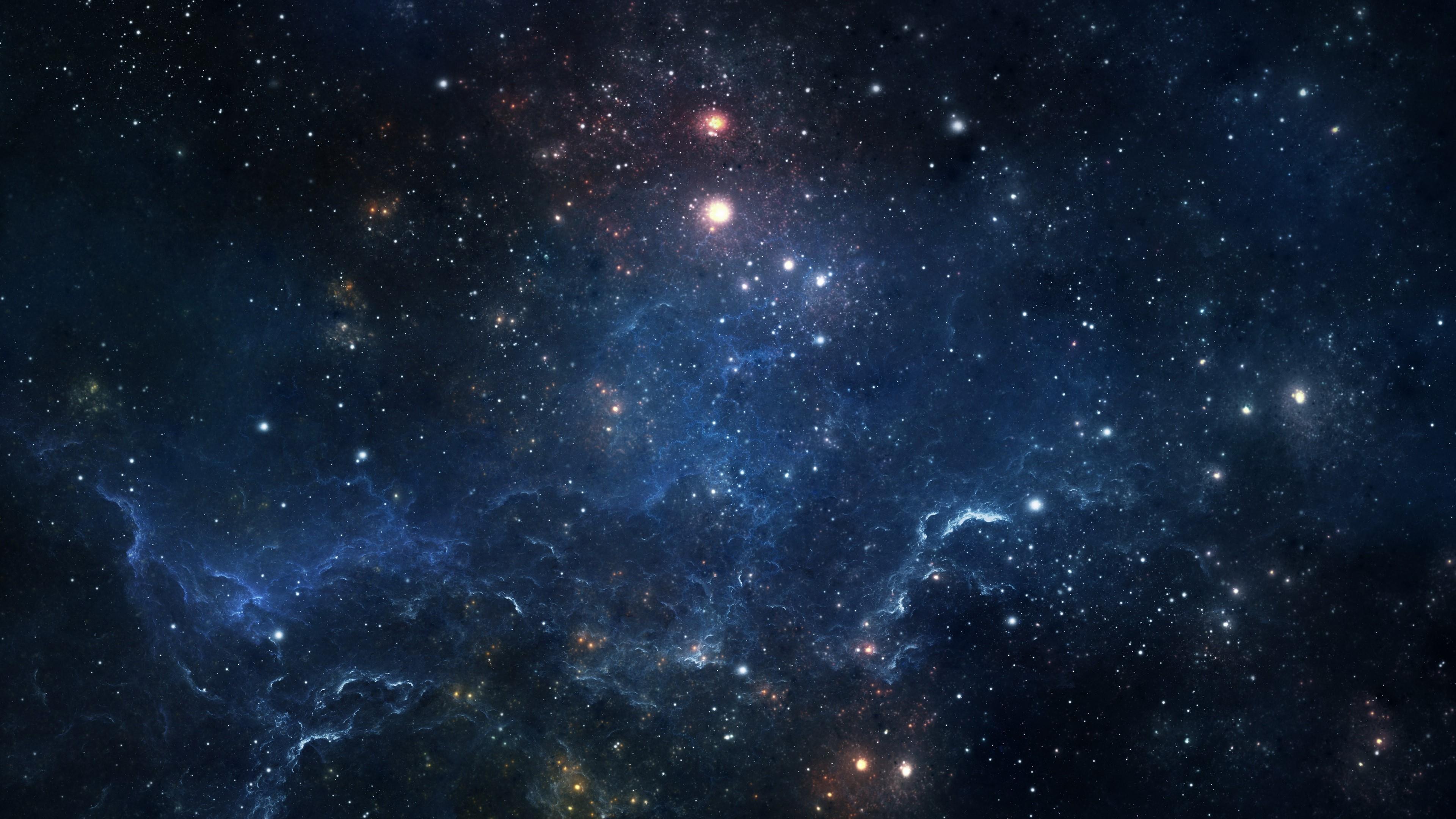 Bluish Nebula wallpaper